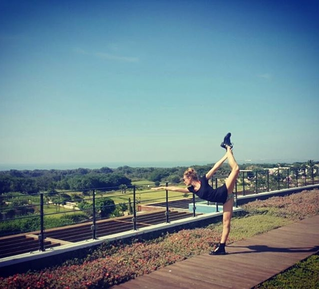yogatravel peace standingbowpose sofitelmogador omyogacasablanca yogaeverywhere  yogaeveryday love namaste