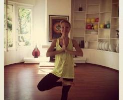 Ligne Om yoga