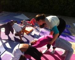 Les petits Yogis de Om Yoga !
