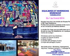 Let's meet for Vinyasa Flow and Detox retreat in Morocco!!!!