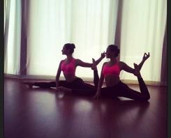 Twin top yoga teachers