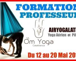 FORMATION DE PROFESSEUR DE YOGA & PILATES «Airyogalates»