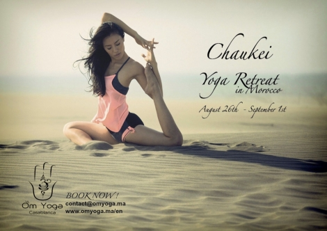 Join Chaukei for her yoga retreat !