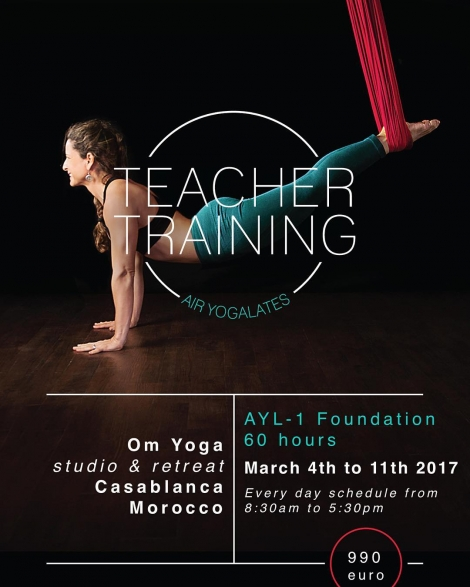 Teacher Training Air Yogalates